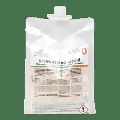 Effectief product voor de handmatige afwas , 2 x 1,5  liter