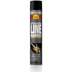 Lijnenverf 750 ml. zwart