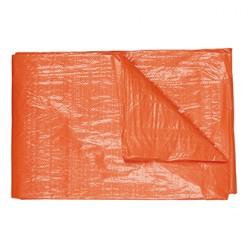 ***Afdekzeil, 2 x 3 meter, oranje met ogen