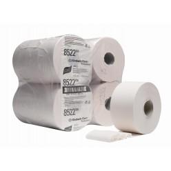 Jumborol mini toiletpapier 2 lgs. 12x180 meter, kern 6cm wit
