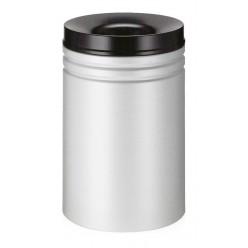 Vlamdover, 80 liter, dubbele dover, grijs-zwart