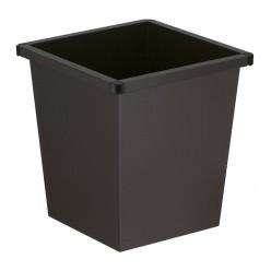 Papierbak, 27 liter, vierkanttapse