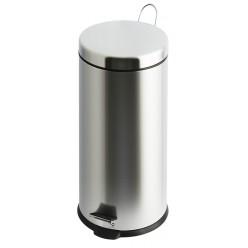 Pedaalemmer, Chroom 30 liter