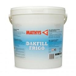 Matte-zijdeglanzende waterdichtingsproduct, wit