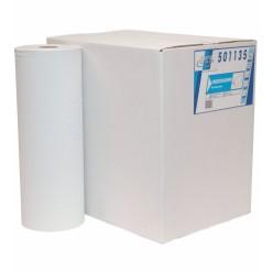 Onderzoekbankrol, 1 lgs, wit, 40 cm x 150 meter, 5 rollen
