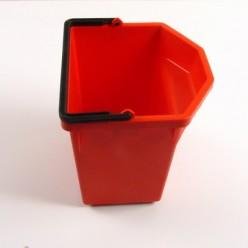 Emmer rood tbv service-car. 5 liter