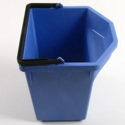 Emmer service-car blauw 5 liter