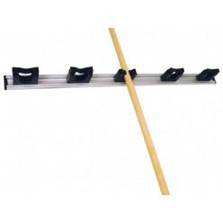 voor bezems, vloertrekkers enz. 90 cm, 5 klemmen