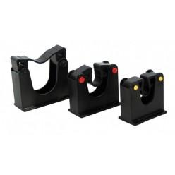 voor bezems, vloertrekkers enz. 30-40 mm, 2 stuks