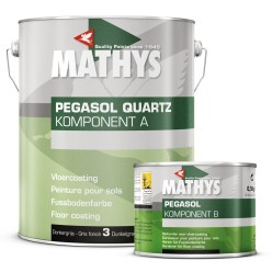 Anti-slip vloercoating 2 comp. donker grijs, incl. verharder