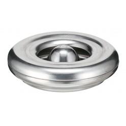 Asbak , Vlamdovend, aluminium , 12 cm Ø