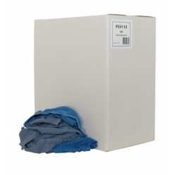Blauwe handdoek lappen, 10 kilo
