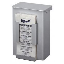 Afvalbak voor hygiënezakjesdispenser voor wandmontage