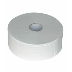 Wit 2 lgs. Tissue, 380 meter, Maxi jumbo, 6 rol.