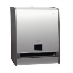 H1 Handdoek-automaat kunststof Aluminium, Sensor, Touch Free