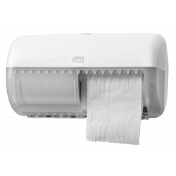 T4 Toiletrol dispenser Twin Roll, Wit