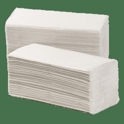 Handdoek wit/crepe 3750 stuks, Z 25 x 25