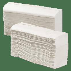 Vouwhanddoekjes 2 lgs. 24,2 x 24 cm, 3750 stuks