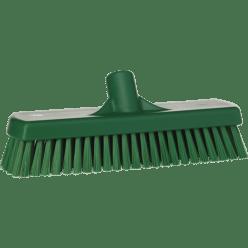 Vloerschrobber hard, 300 x 115 x 85 mm, vezellengte 45 mm groen