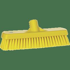 Vloerschrobber hard, 300 x 115 x 70 mm, vezellengte 45 mm geel