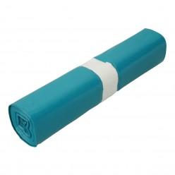 Blauw 65/20 x 125 cm. 70mµ 10 rol x 10 stuks (100 stuks)