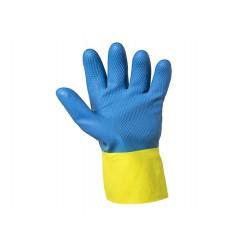Neoprene Latex, chemical Resistant, G80, 12 paar maat 10