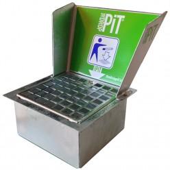 Drop Pit met werpscherm afm. 405x450x425mm incl. rand