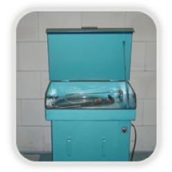 Onderdelen reiniger klein met deksel, voor 60 liter
