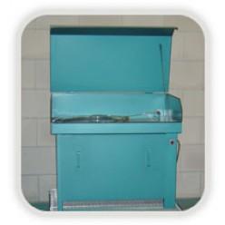 Onderdelen reiniger groot met deksel, 200 liter