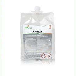 Voor snelle en veilige desinfectie,  2 x 1,5 liter
