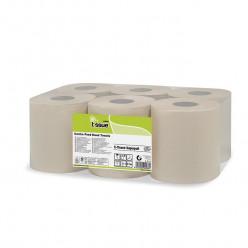 E-tissue Poetsrol midi, 2 laags, 6 rol, 153 mtr
