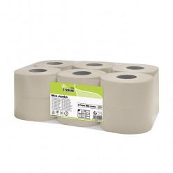 E-tissue Toiletpapier mini jumbo, 2 lgs, 12 rol, 150 mtr