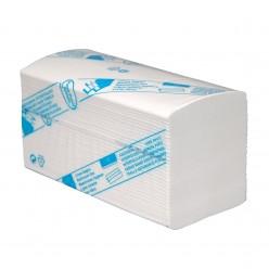 Cellulose, 3lgs, interfold, 32x22cm, 20x125 stuks (2500)