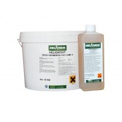 Zelf nivilerende 2 comp.epoxy incl.harder, 10 kilo