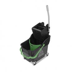 Emmer 30 liter + mop-pers  HB 1812, excl.mop en steel