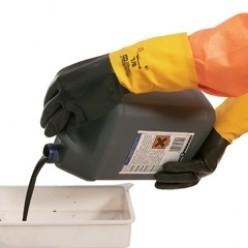 A80, Ter bescherming van chemische stoffen, oranje, XL, 1st.