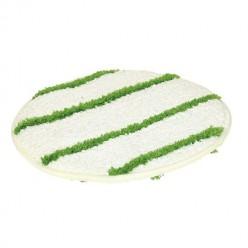 Pad Bonnet 16 inch, tapijtpad groen/wit 1 stuk
