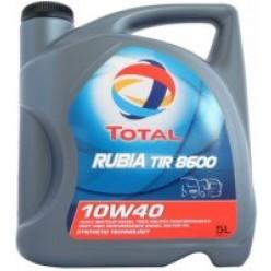 Motorolie Total Rubia Tir 8600 10W40, 3 x 5  liter