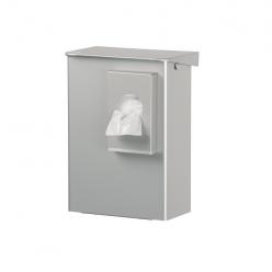 RVS gesloten hygienebak incl. zakhouder, 6 liter