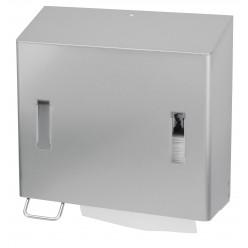 Handdoek + zeepdispenser links