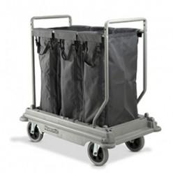 NB-3003 Wasgoedwagen, 3 x 100 liter wasgoedzakken