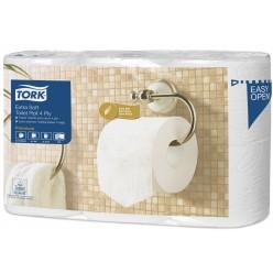 T4 toiletpapier wit, 4 lgs, 150 vel, 42 rol