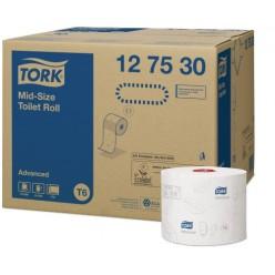 T6 Toiletpapier, 2 lgs, 100 meter, compact, 27 rol