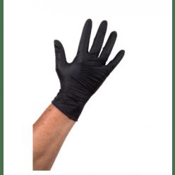 Comfort handschoen zwart 100 stuks Large