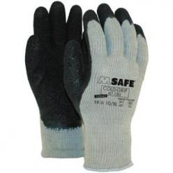 ***M-Safe Coldgrip 47-180,, Grijs/zwart, maat 10, 1 paar