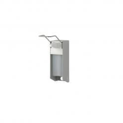 Aluminium zeepdispenser met lange beugel, 500 ml.