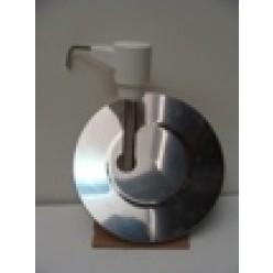 RVS emmer dispenser, 10 liter