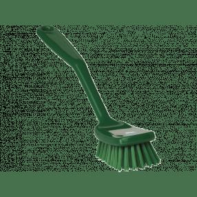Afwasborstel, 255 x 35 x 60 mm groen