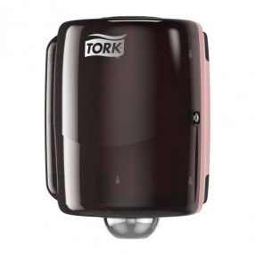 W2 Combiroll dispenser, Rood/zwart