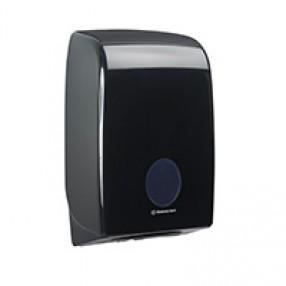 Dispenser voor interfolded handdoek, zwart
